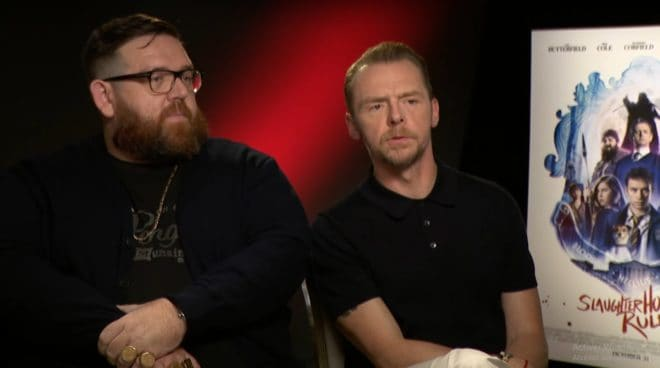 Nick Frost & Simon Pegg en interview (2018)