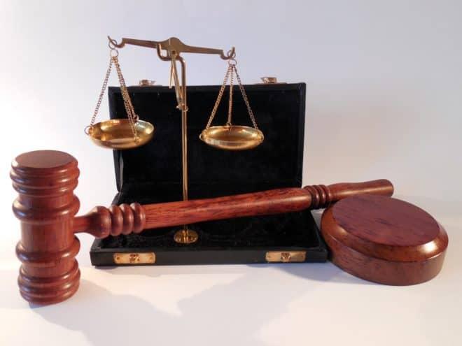 Illustration. Les symboles de la justice.