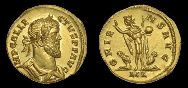 La pièce romaine vendue aux enchères en juin 2019
