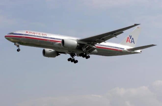 Un avion de la compagnie aérienne American Airlines. Image d'illustration.