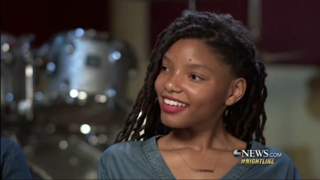 Halle Bailey en interview (2017)