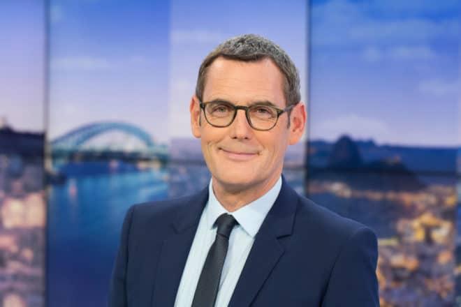Francis Letellier présentateur du Soir 3 en semaine depuis 2016.