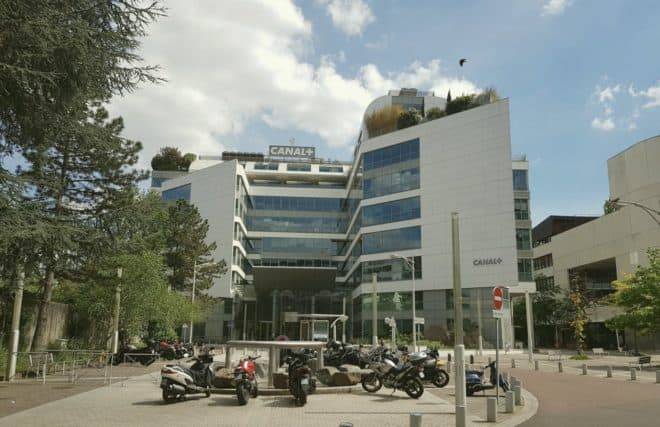 Le siège du groupe Canal+ à Issy-les-Moulineaux.