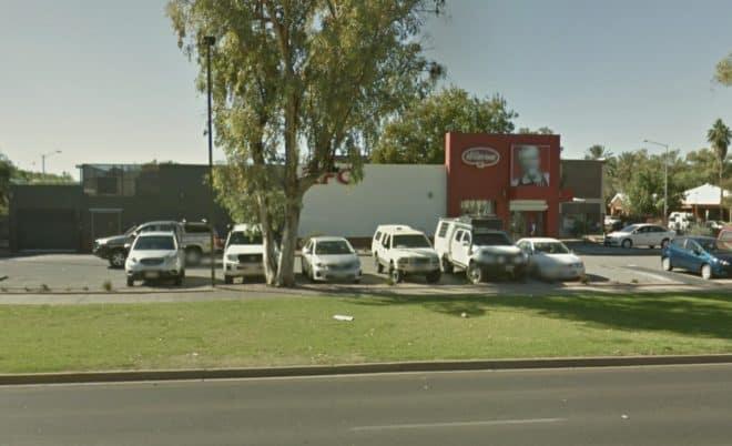 Le KFC de Sam Edelman à Alice Springs, Australie.
