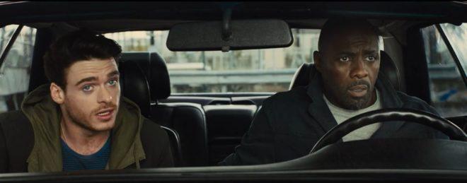 "Richard Madden et Idris Elba dans ""Bastille Day"""