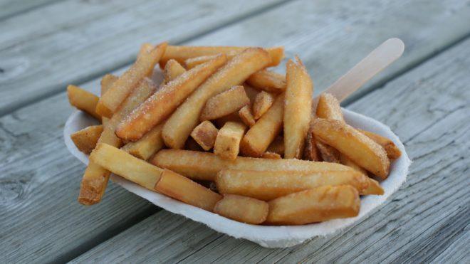 Des frites. Image d'illustration.