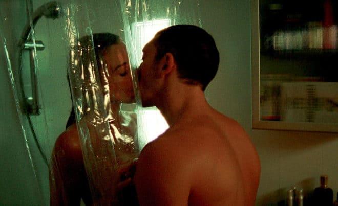 Monica Bellucci et Vincent Cassel dans Irréversible (2001) de Gaspar Noé.