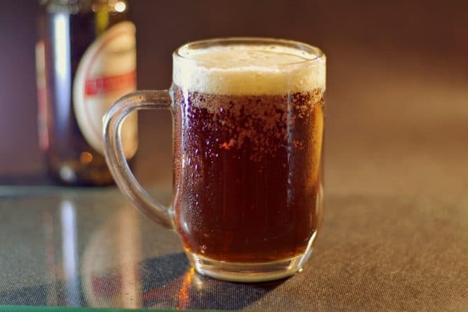 Illustration. De la bière.