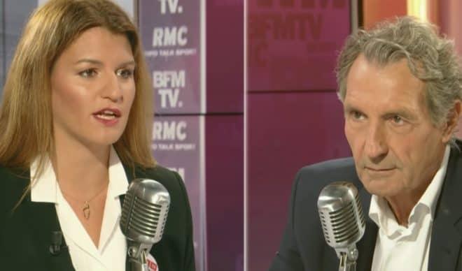 Jean)Jacques Bourdin face à Marlène Schiappa (Septembre 2019).