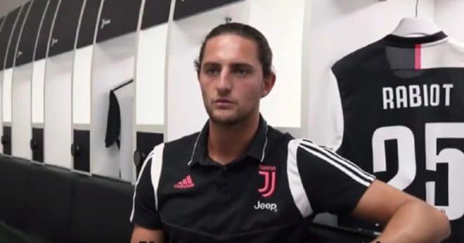 Adrien Rabiot à la Juve
