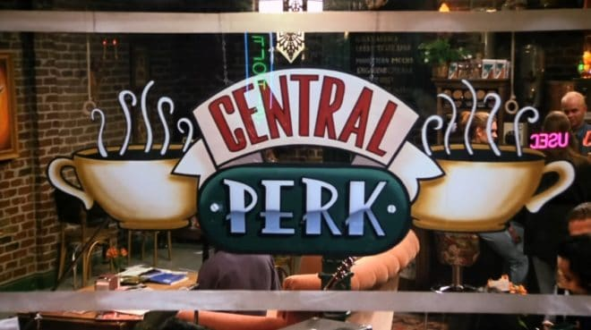 "Le café Central Perk de ""Friends"""