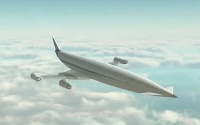 Un avion qui une fois en orbite pourrait atteindre 30.000 km/h.