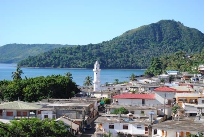 La commune de Sada, à Mayotte.