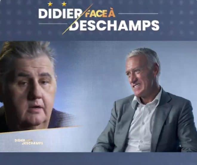 Didier Deschamps (à droite)