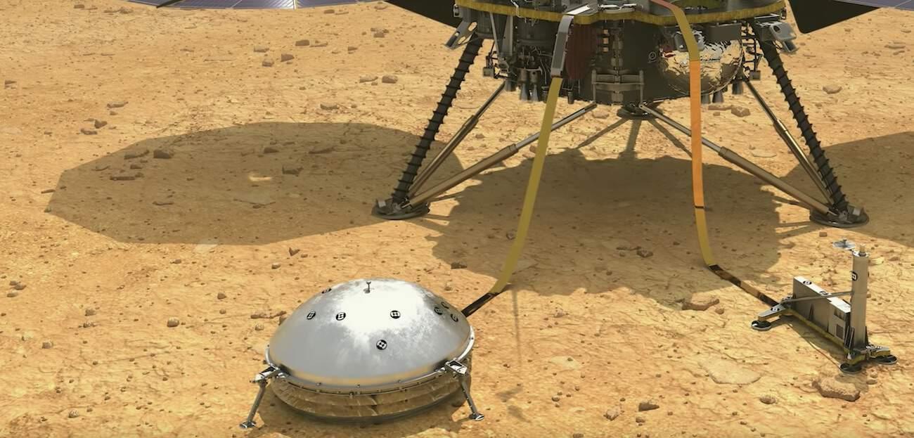"Deux ""tremblements de Mars"" mis en ligne par la Nasa"