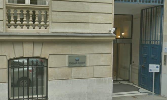 Le siège de Pernod Ricard à Paris.
