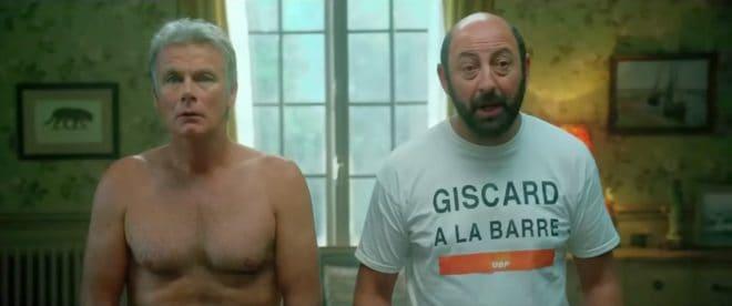 "Franck Dubosc et Kad Merad dans ""Bis""."