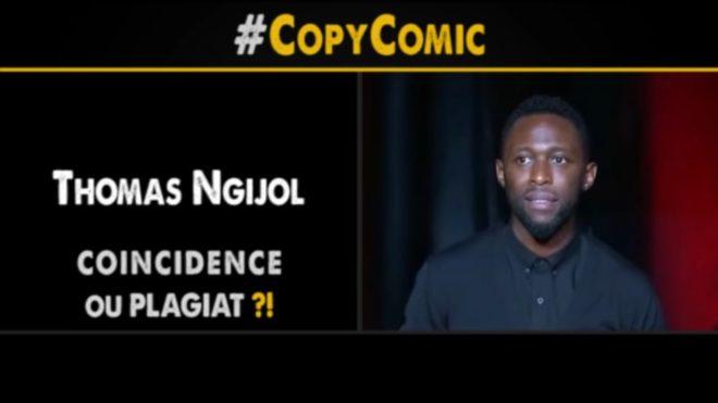 Thomas Nijigol ciblé par une vidéo de CopyComic