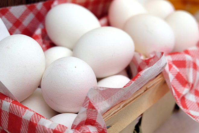 Des œufs durs. Image d'illustration.