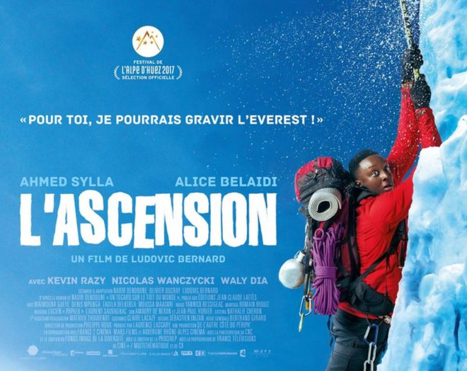 "Affiche du film ""L'Ascension""."