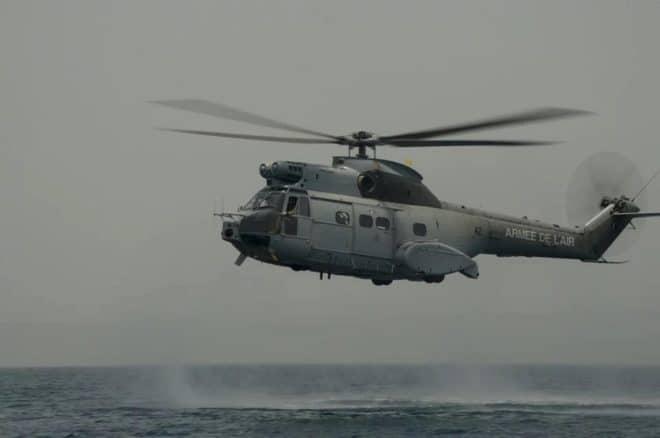 Hélicoptère de l'armée Française