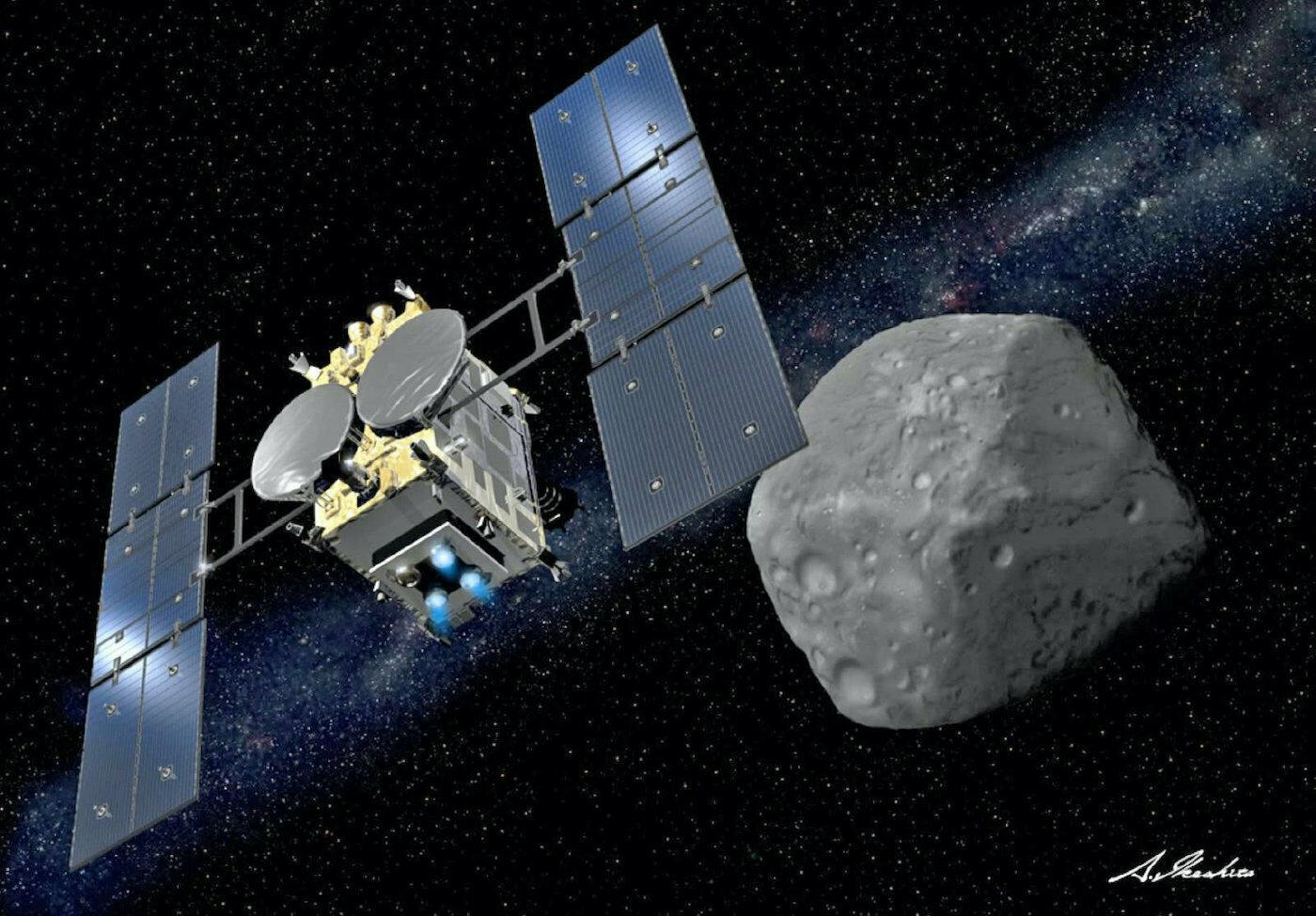 La sonde japonaise Hayabusa 2 débute son retour sur Terre