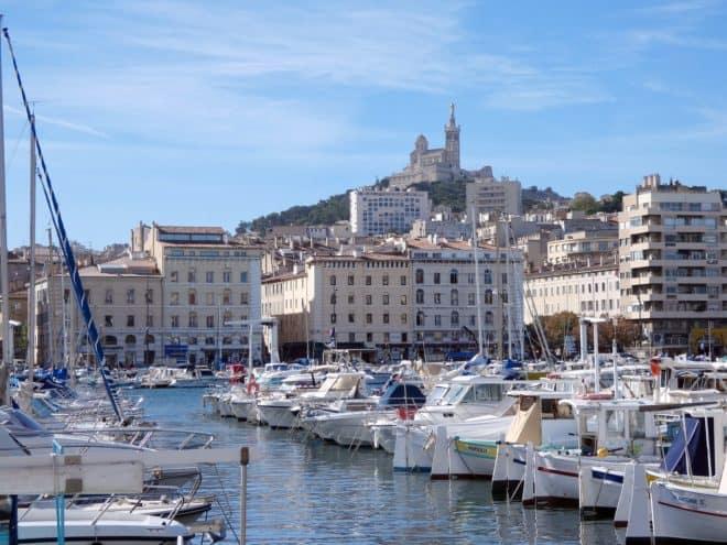 Illustration. Le Vieux-Port à Marseille.