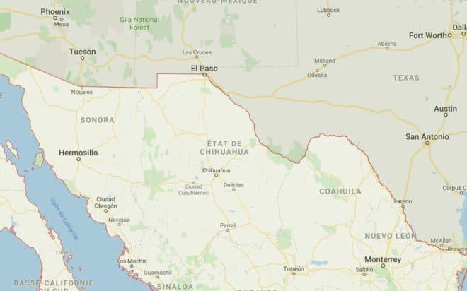Le Nord du Mexique. Illustration.