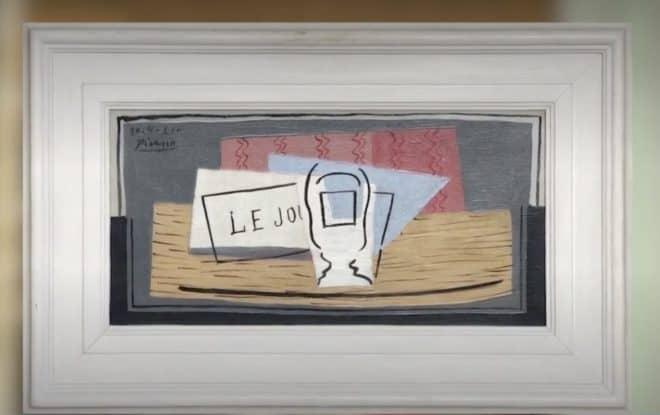 Nature morte, tableau de Picasso.