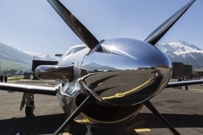 Un Pilatus PC-12. Image d'illustration.