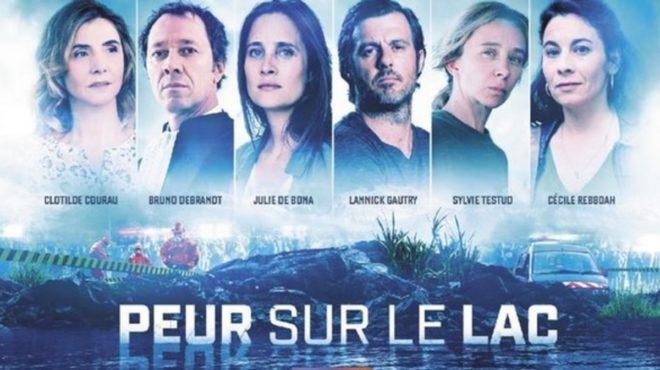 Affiche de 'Peur sur le lac'