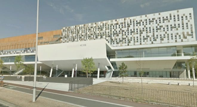 L'école de commerce Kedge à Talence (Gironde).