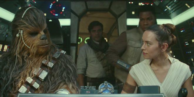 Capture extraite de la bande-annonce de Star Wars IX.