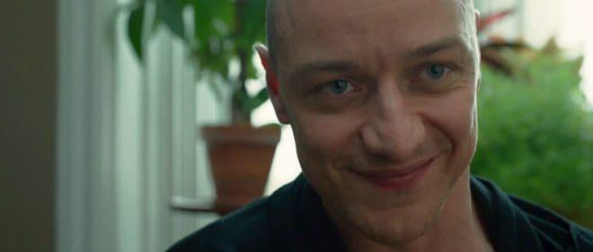 "James McAvoy dans ""Split""."