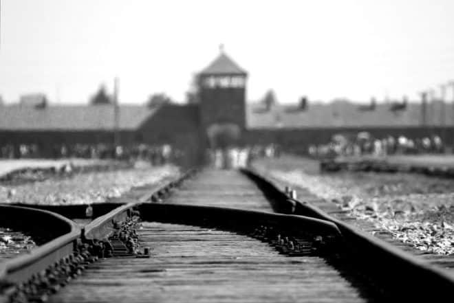 Le camp d'extermination d'Auschwitz-Birkenau.