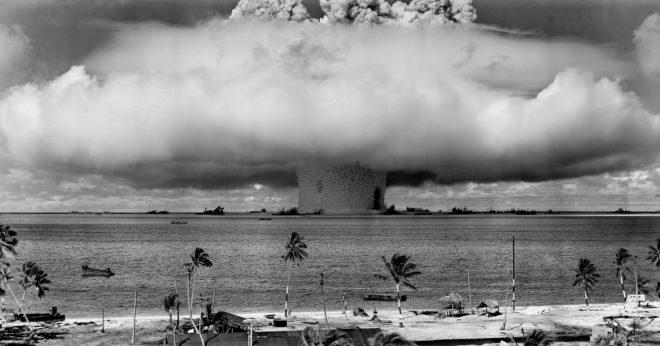 Illustration. Un essai nucléaire.
