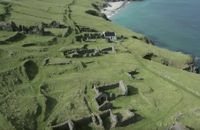 L'île de Great Blasket, au large de l'Irlande.