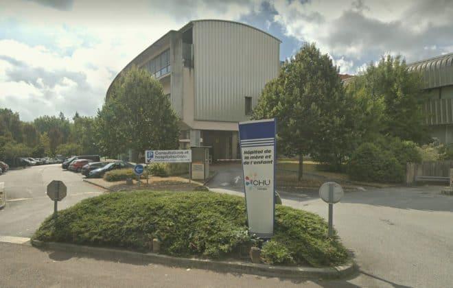L'Hôpital de la mère et l'enfant, à Limoges.
