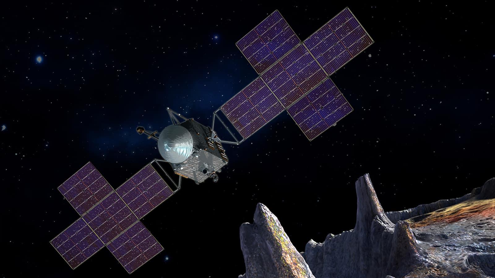 Avec son or et ses métaux précieux, un astéroïde est dans le viseur de la Nasa