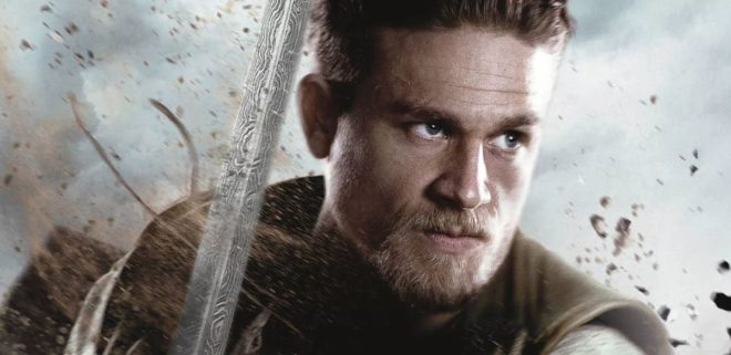 """Affiche du film """"Le Roi Arthur - La Légende d'Excalibur""""."""