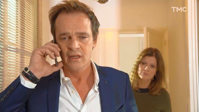 """Peter et Laly (Les Mystères de l'Amour saison 22, épisode 8 """"Inquiétudes en série"""")."""