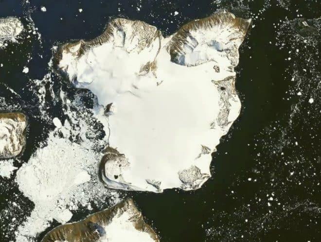 Eagle Island, dans l'Antarctique.