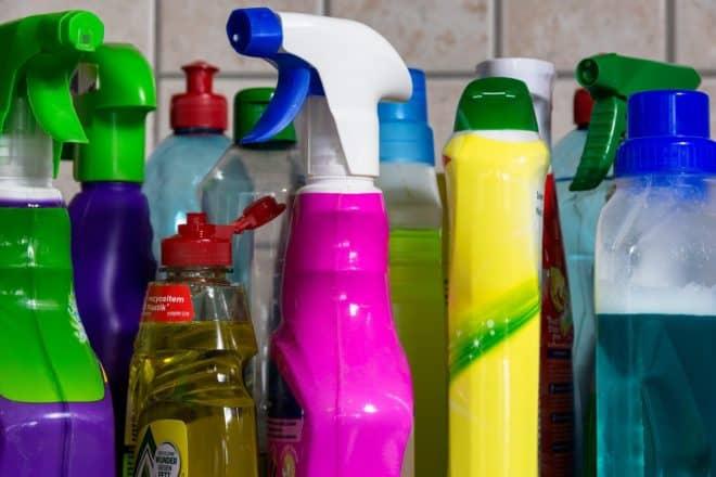 Photo d'illustration. Des produits ménagers.