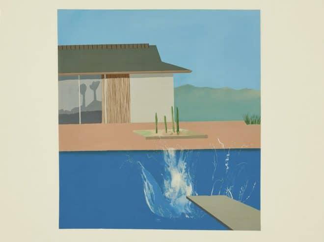 """""""The Splash"""", David Hockney (1966)."""