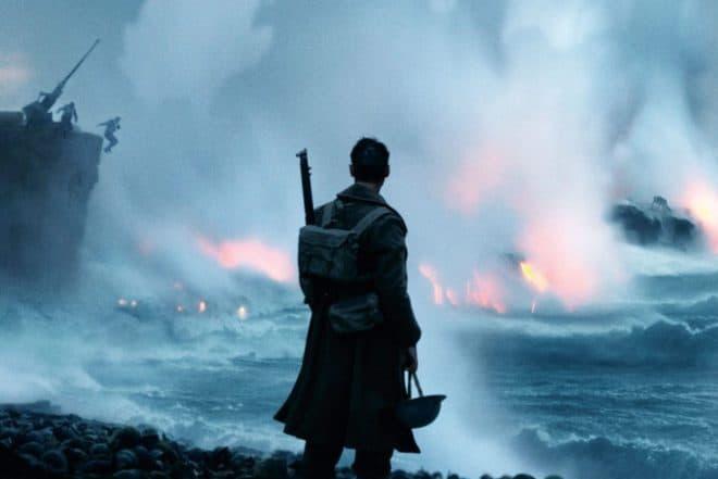 """Affiche du film """"Dunkerque"""" (2017)."""