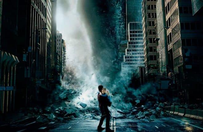 """Affiche du film """"Geostorm"""" (2017)."""