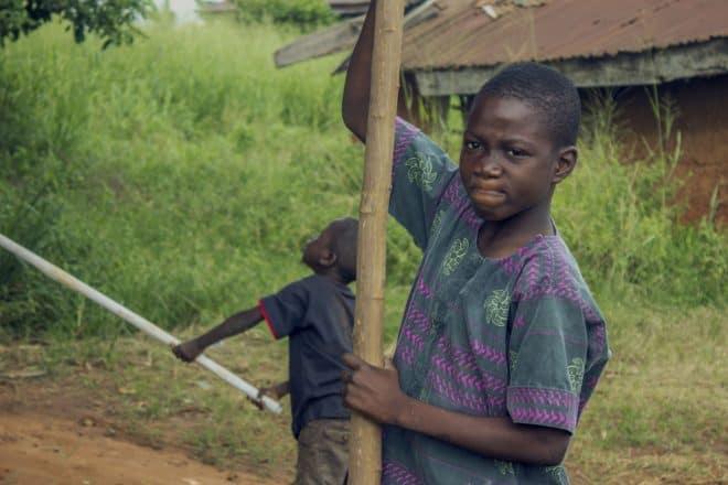 Illustration. Des enfants au Nigéria.