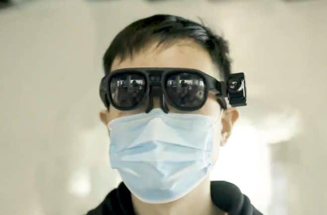 Les lunettes développées par Rokid.