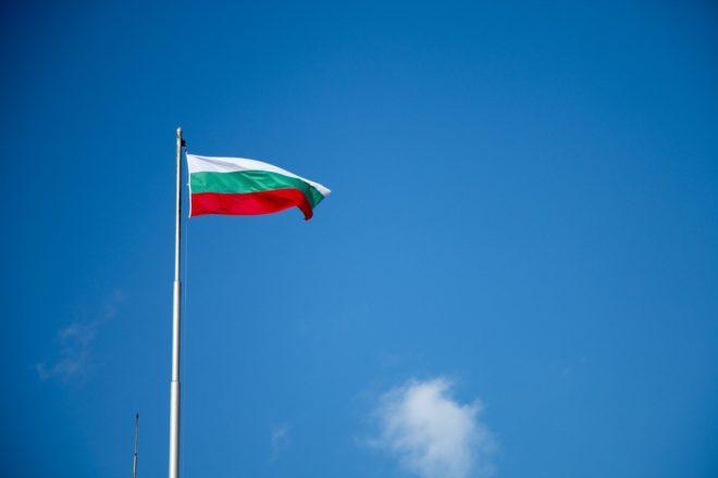 Le drapeau bulgare.