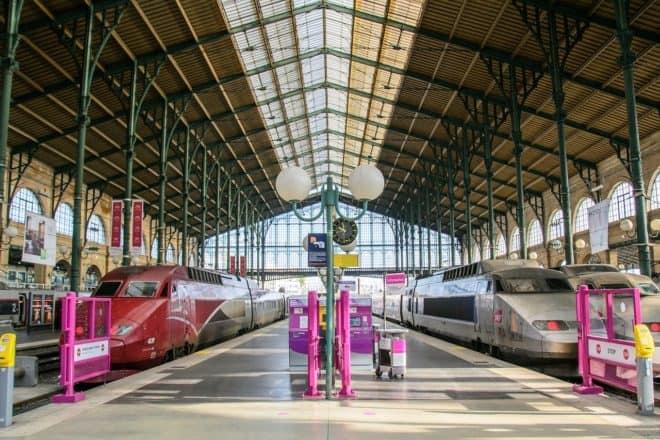Illustration. Gare du Nord, à Paris.